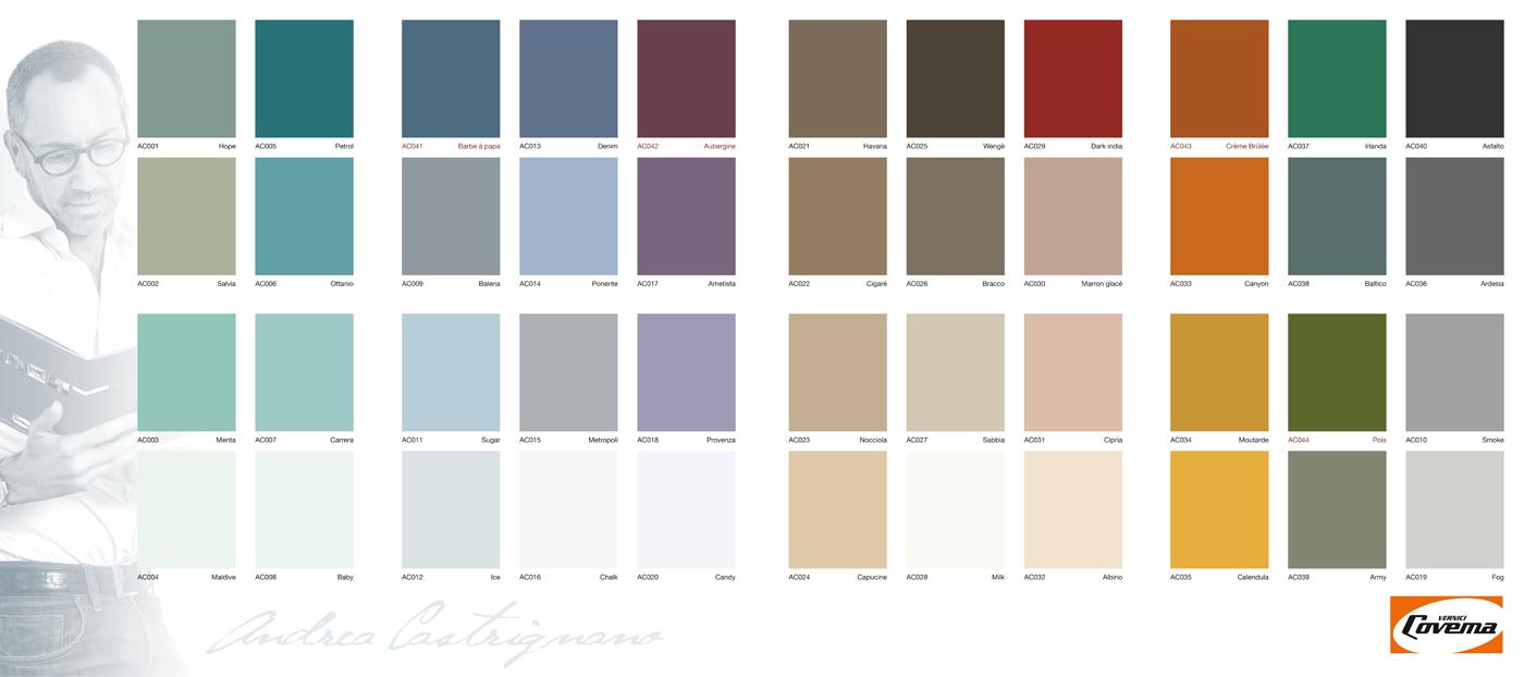 I colori di andrea - Cartella colori per muri interni ...