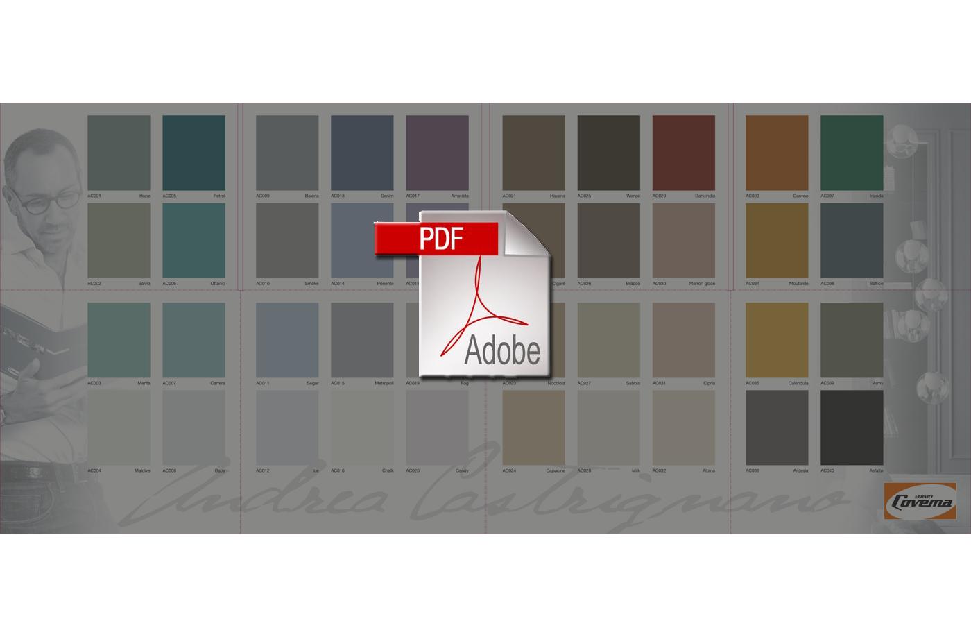 Cartella colori per pareti interne top amazing cartella colori with cartella colori per pareti - Tabella colori per pareti interne ...