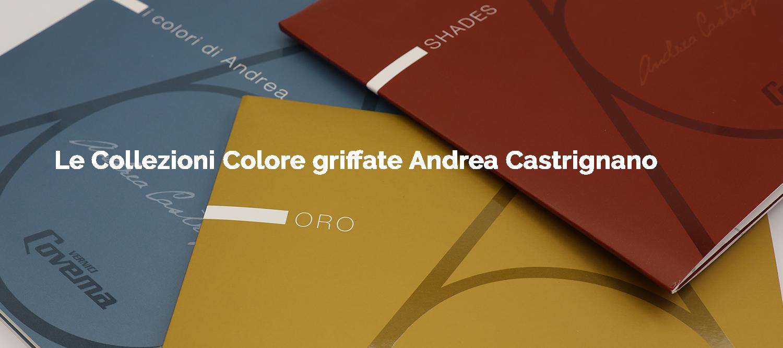 Acquista le Collezioni Colore griffate Andrea castrignano